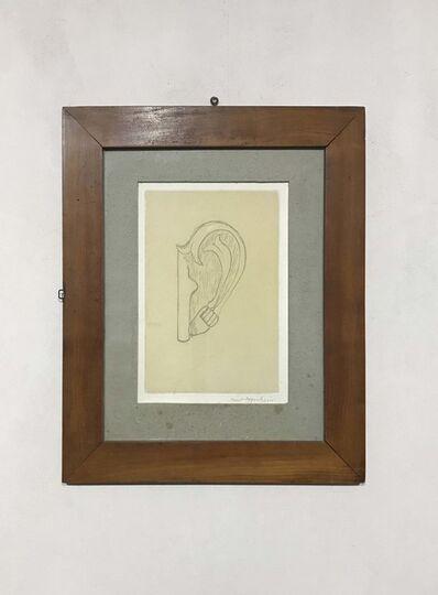 Méret Oppenheim, 'Das Ohr von Giacometti', 1974