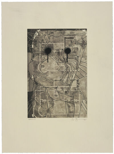 Jasper Johns, 'Untitled', 1998