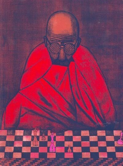 "Gustavo Montoya, '""Caput Mortum""', 1985"