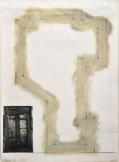 David Tremlett, 'Drawing for a wall', 1993