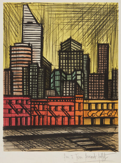 Bernard Buffet, 'New York, Coca-Cola', 1986