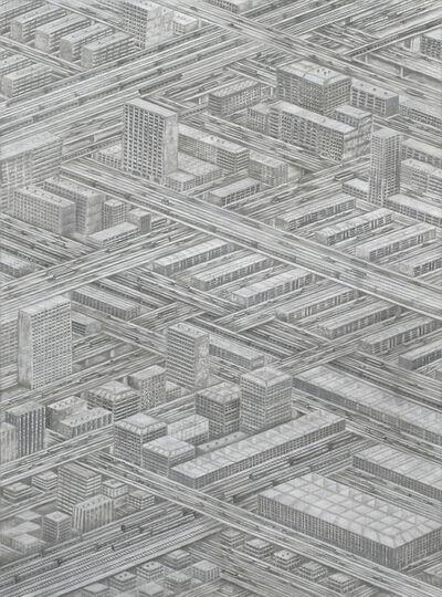 Thomas Bayrle, 'Die Stadt (The City),', 1976