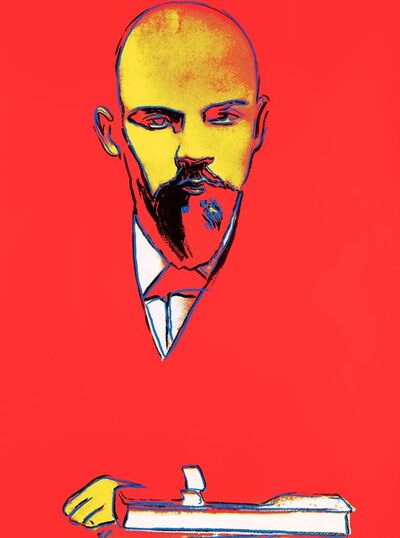 Andy Warhol, 'Red Lenin II.403', 1987