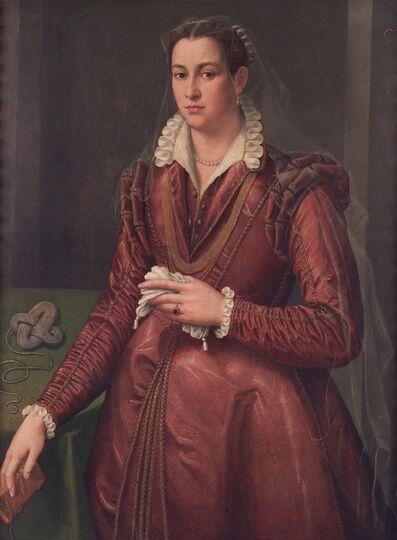 Agnolo Bronzino, ' Portrait of woman', XVI sec.