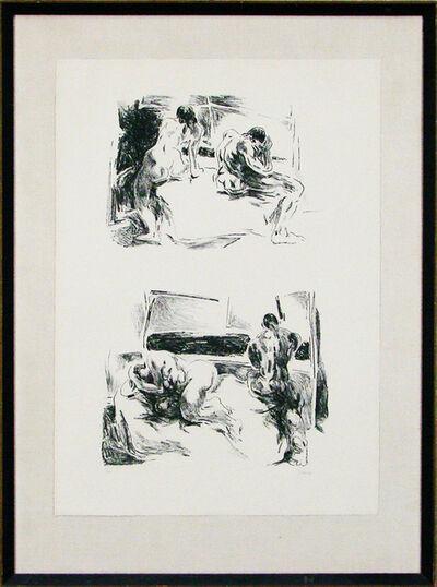 William Brice, 'Couples', ca. 1960