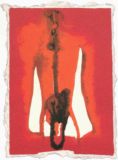 Francesco Clemente, 'Evening raga #47', 1992