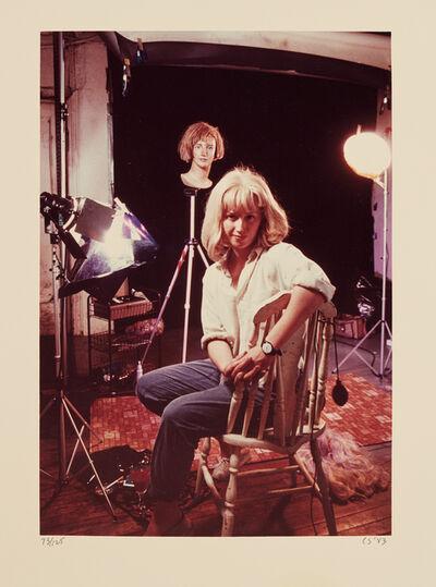 Cindy Sherman, 'Untitled (Artist in her Studio)', 1983