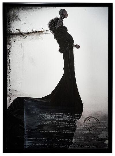 Efren Isaza, 'Black Rosa', 2010
