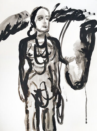 Suzy Spence, 'Horsewoman in Necklace', 2019