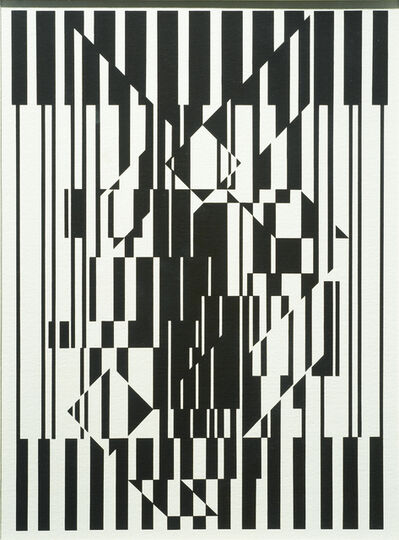 Victor Vasarely, 'Calcis', 1956