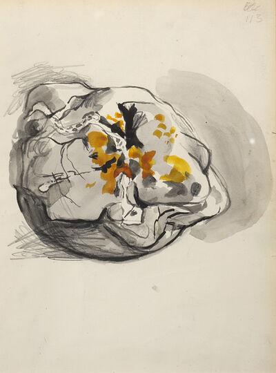 Graham Sutherland, 'Pagina di sketch-book', 1969 ca.