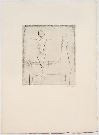 Marino Marini, 'Idea del Cavaliere, Selezione II, Plate I', 1973