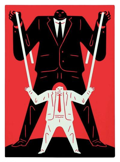 Cleon Peterson, 'Little Man Big Man / Putin - Red', 2018
