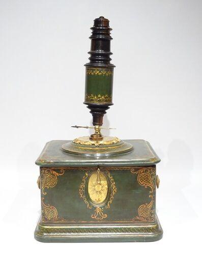 Unknown, 'Lacquered green microscope', ca. 1750