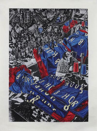 Aoyama Satoru, 'Faceless Labourers', 2019
