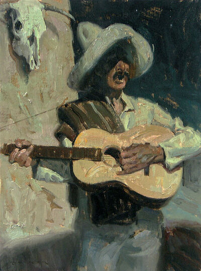 "Eric Bowman, '""Spanish Minstrel""', 2017"