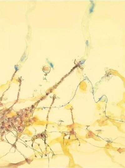 John Olsen, 'Giraffes and Balloon', 0000