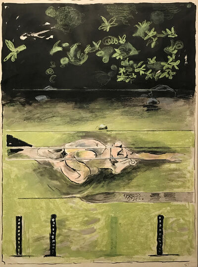 Graham Sutherland, 'The Swimmer', 1973-1974