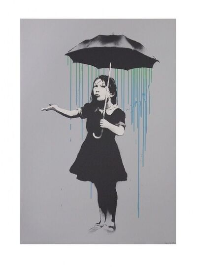 Banksy, 'Nola (Green to Blue AP) ', 2009