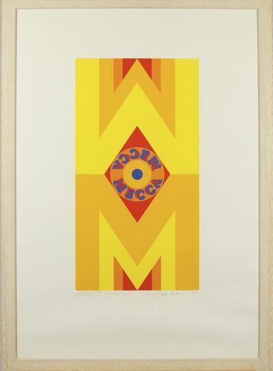 Robert Indiana, 'Mecca l', 1977