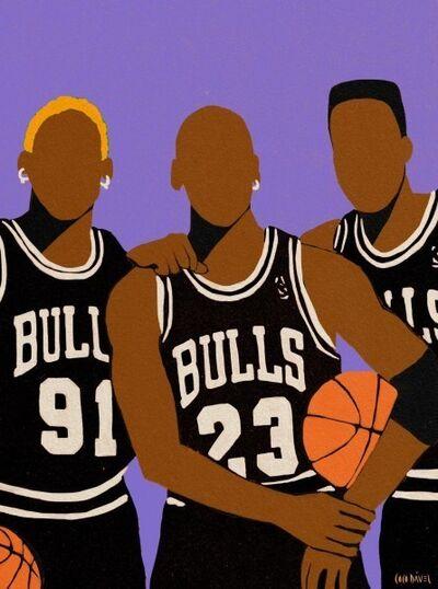 Coco Davez, 'Chicago Bulls', 2020