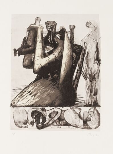 Henry Moore, 'Mother and Child Shell (Cramer 432)', 1978