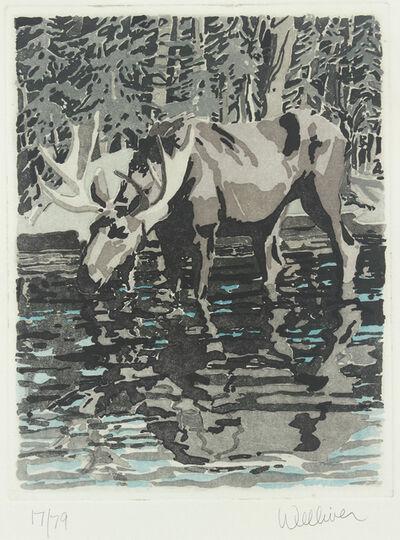 Neil G. Welliver, 'Moose', 1981