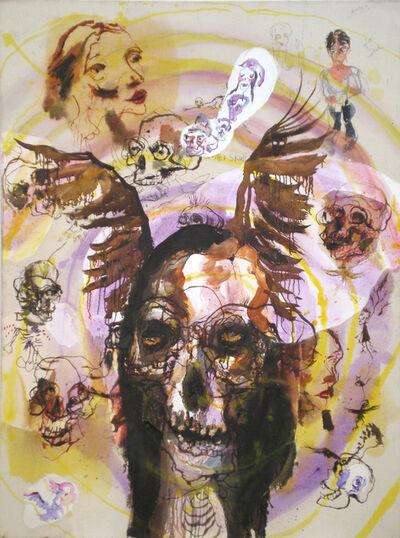 Brad Kahlhamer, 'Small Skull Vortex', 2009