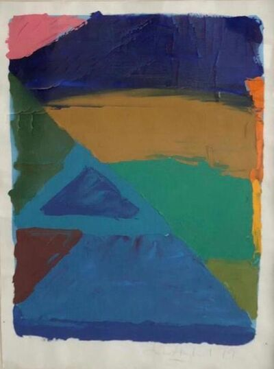 John Hoyland, 'Abstract', 1979
