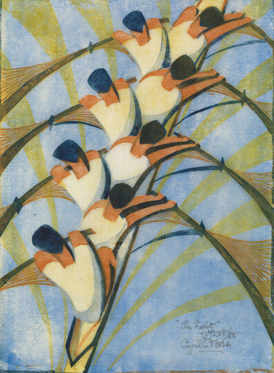 Cyril Power, 'The Eight', 1930