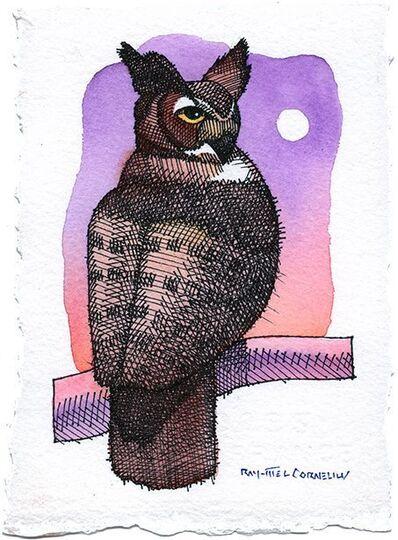 Ray-Mel Cornelius, 'Horned Owl', 2015