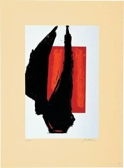 Robert Motherwell, 'Art Chicago 1981 Print ', 1981