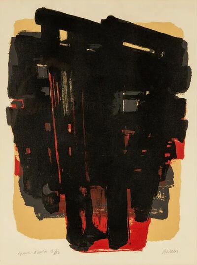 Pierre Soulages, 'Lithographie no.8', 1958