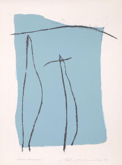 Adja Yunkers, 'Pueblo', 1977