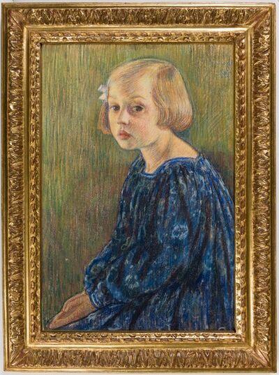 Théo van Rysselberghe, 'Portrait of the Artist's Daughter, Élisabeth van Rysselberghe', 1896