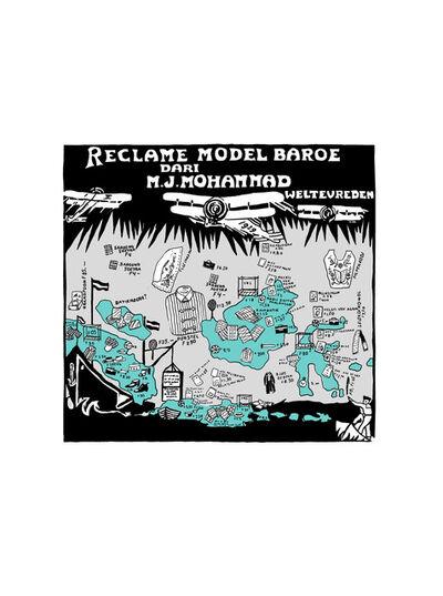 """Krack! Studio, 'Reclame Model Baroe, 1924 (from the series """"Tanah/Impian (Dream/Land)"""")', 2014-2017"""