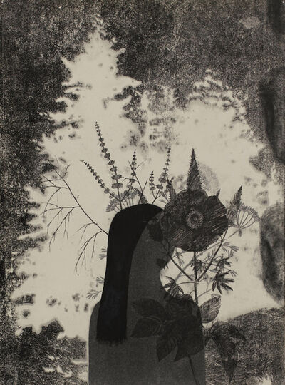 Stas Orlovski, 'Woman with Flower', 2013