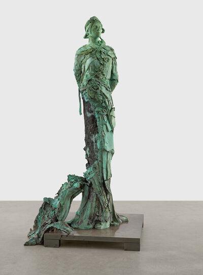 Jonas Burgert, 'Und Blieb', 2020