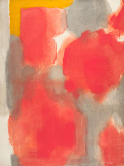Carl Holty, 'Red Gold', 1958