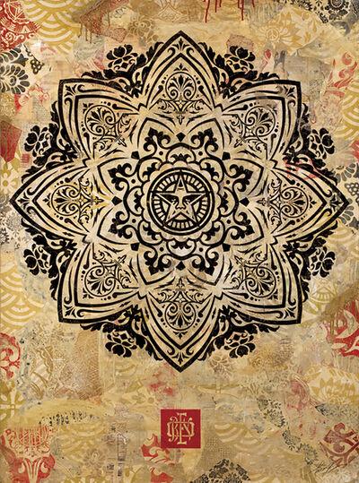 Shepard Fairey, 'Mandala Ornament 2 (Crm)'