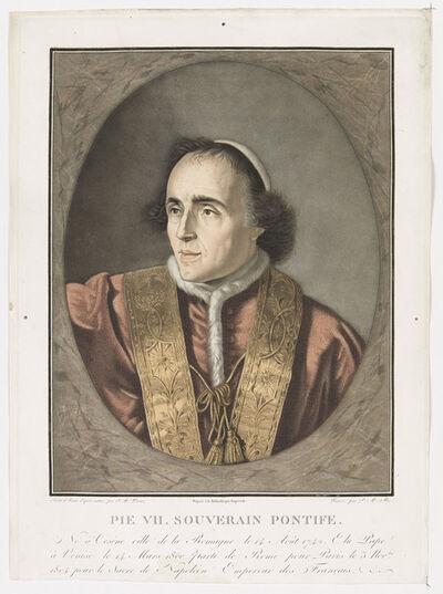 Pierre-Michel Alix, 'Pie VII. Souverain Pontife ', 1804