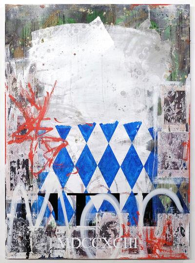 Zavier Ellis, 'Blue Terror', 2019