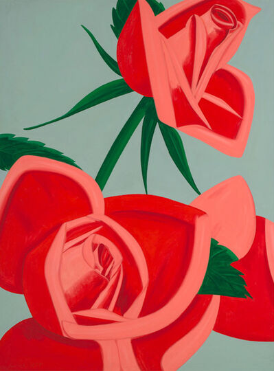 Alex Katz, 'Rose Bud', 2018