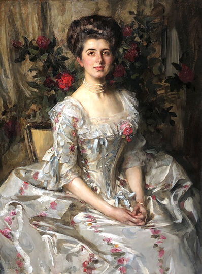 James Jebusa Shannon, 'Miss Virginia Gammell', 1905