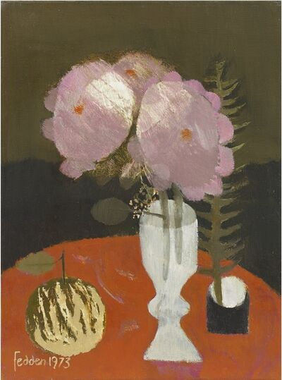 Mary Fedden, 'Pink Roses', 1973