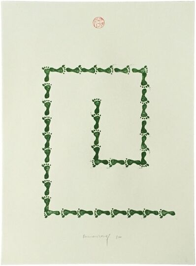 Richard Long, 'Untitled (from Artists Against Torture portfolio)', 2003