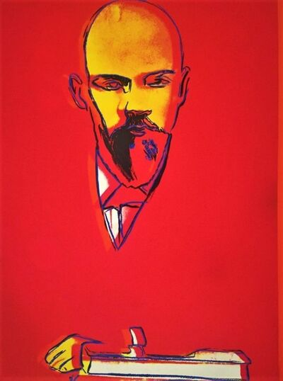 Andy Warhol, 'Red Lenin (F&S II. 403)', 1987