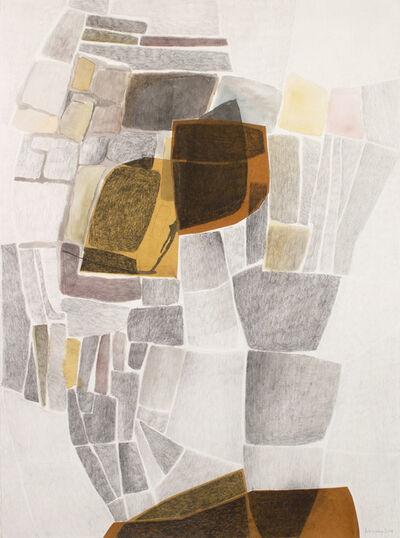 Eva Isaksen, 'Stone Wall Study - Segments', 2018