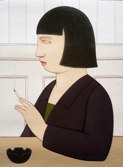 Andrew Stevovich, 'Nadine with a Cigarette', 2018