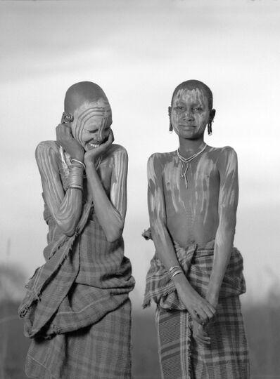 Isabel Muñoz, 'Surma, Etiopia, Series', 2002